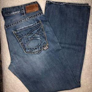 Men's Silver Jeans
